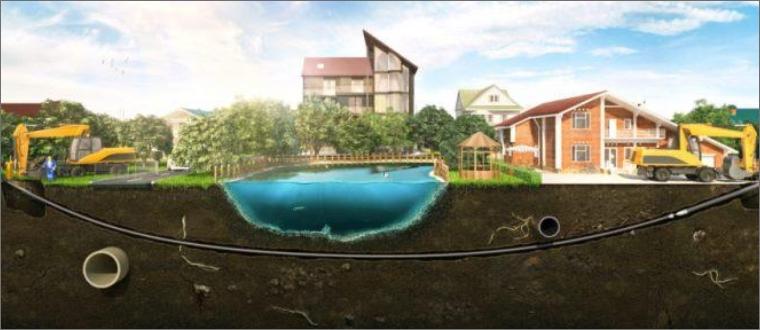 Горизонтально-направленное бурение скважин под водоемами